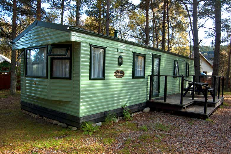 Cannich Highland Holiday Caravans Strathglass