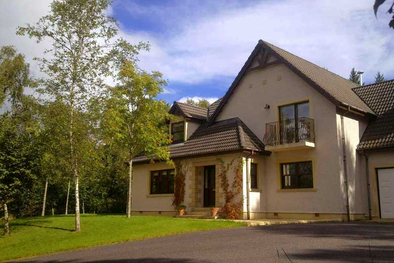 The Grey Hen at Allt Molach Self Catering Corrimony